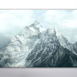 Plakat góry błękit 4