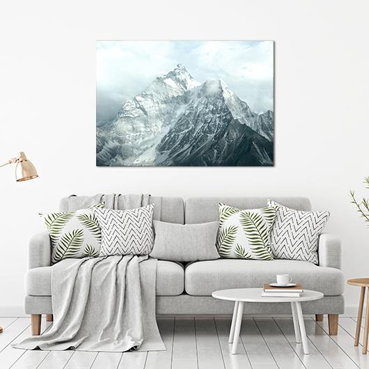 Plakat góry błękit 3