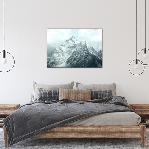 Plakat góry błękit 6