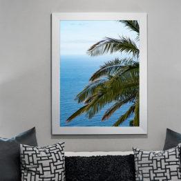 Plakat palma ocean natura 2