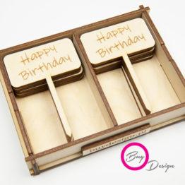 Toppery z napisem happy birthday