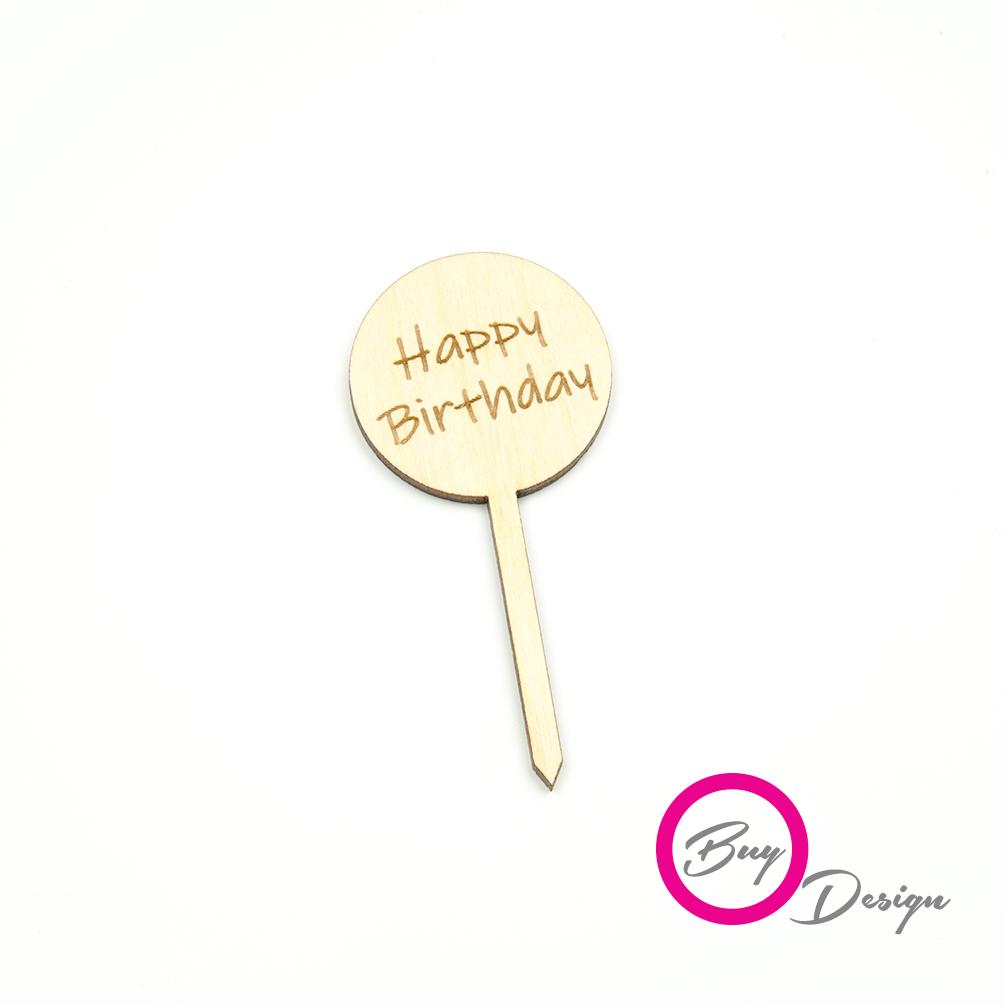 Piki toppery happy birthday