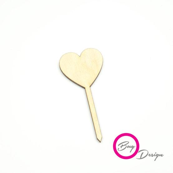 Dekoracje do deserów w kształcie serca
