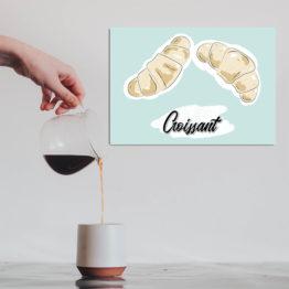 stylowa dekoracja do kawiarni