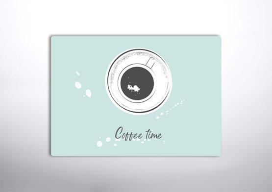 czas na kawę dekoracja do kuchni