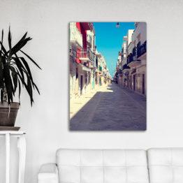 ulica we Włoszech plakat