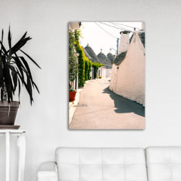 ulica Włochy obraz