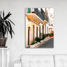 Włochy ulica obraz