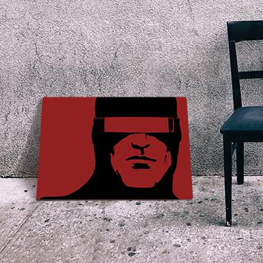 plakat z komiksu X-Men