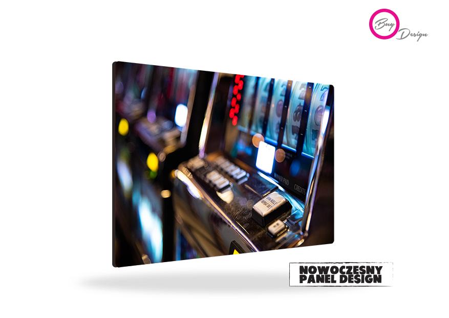 Foto dekoracja casino panel design