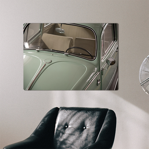 retro samochód plakat