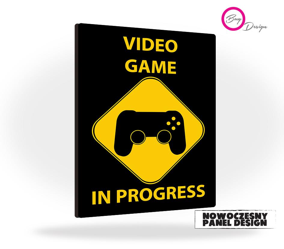 Prezent dla miłośnika gier video game in progress