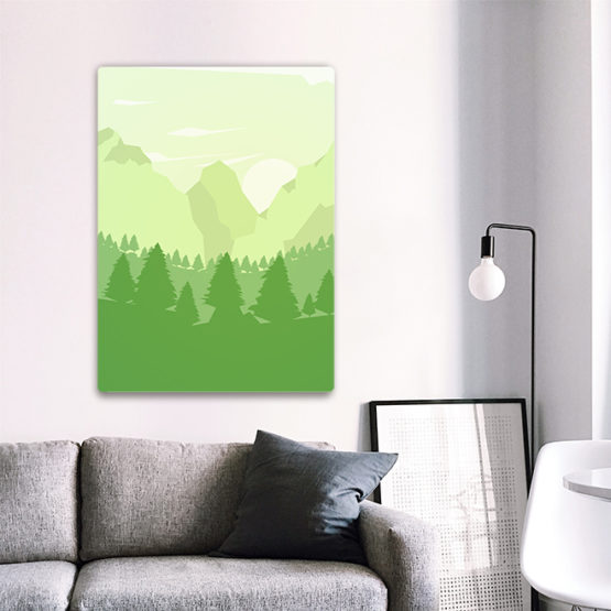 góry plakat do salonu