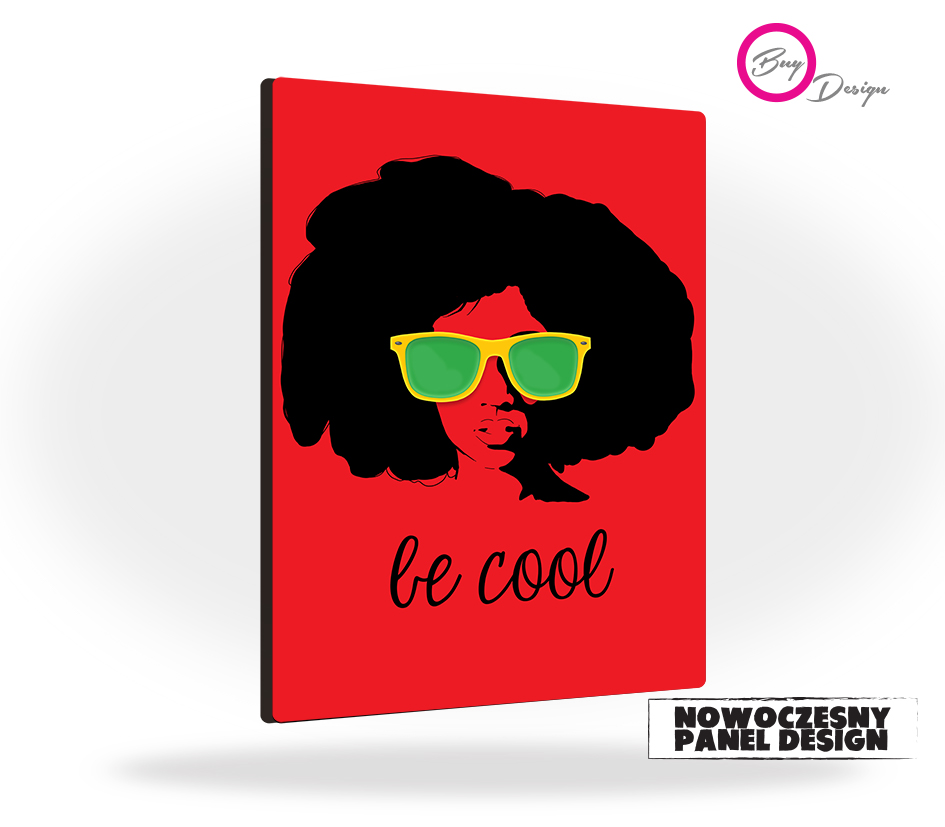 Be cool dekoracja retro panel design