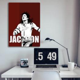obraz muzyka Michael Jackson