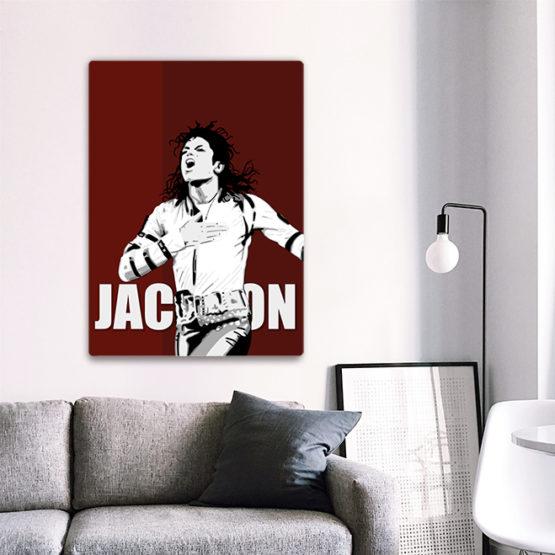 plakat muzyka Michael Jackson