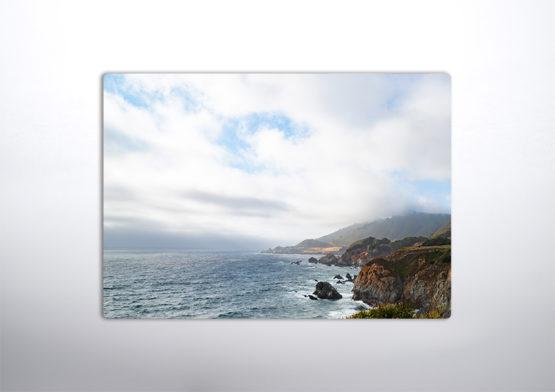 plakat krajobrazowy widok na ocean panel design