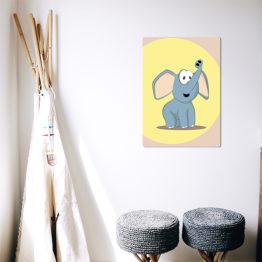 kolorowy plakat do dziecięcego pokoju