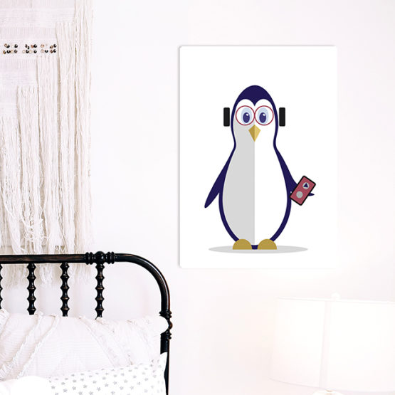 pingwinek dziecięcy plakat