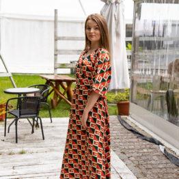 sukienka premium jedwab