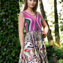 sukienka jedwab
