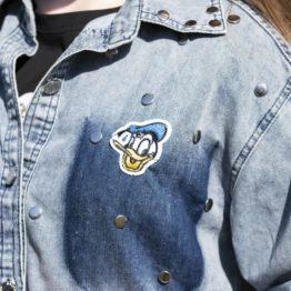 Koszula dżinsowa z dżetami