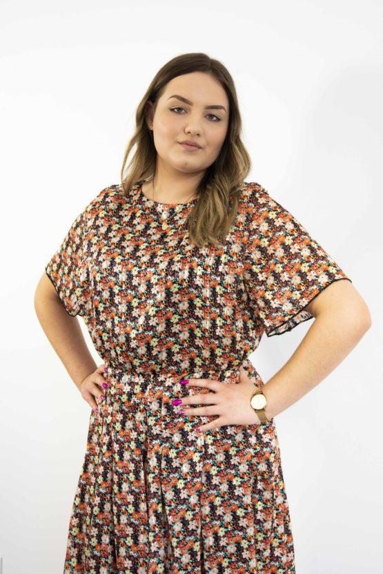 Wzorzysta Sukienka mini Teja