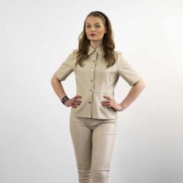 Elegancki komplet - koszula i spodnie