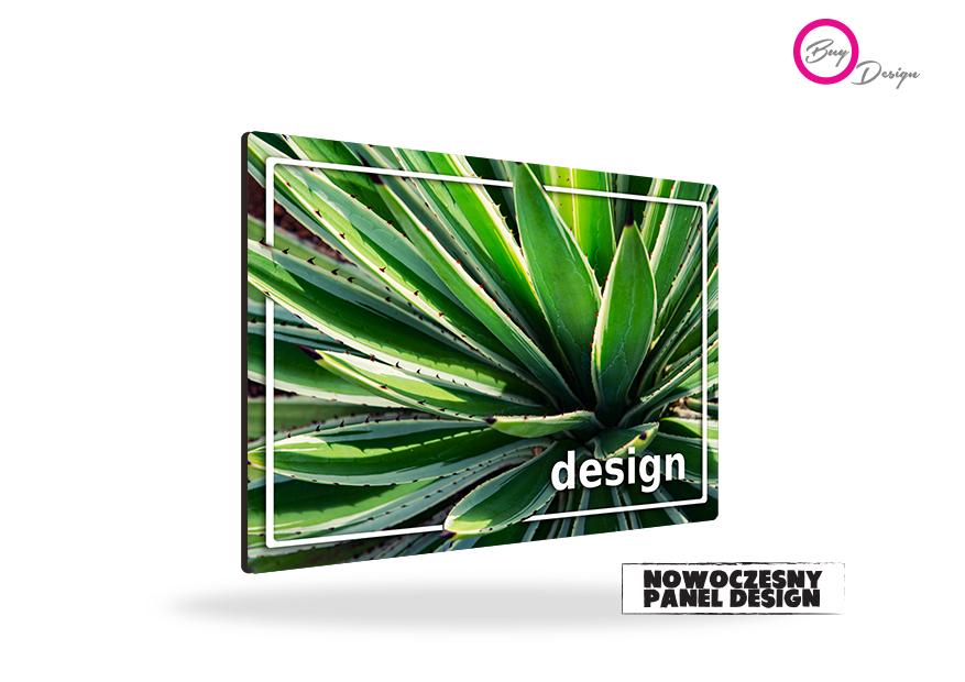Botaniczny panel design dekoracja