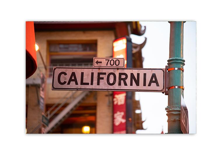 California plakat
