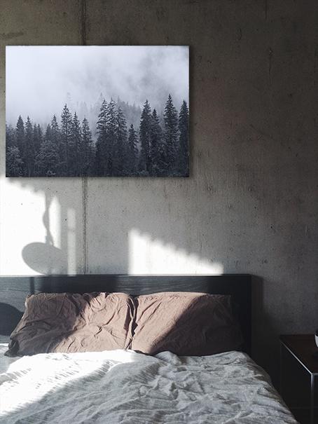 natura spokojny plakat do sypialni