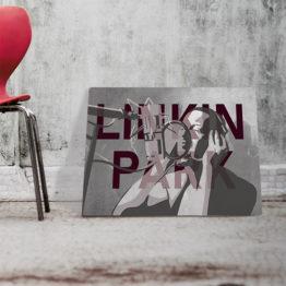 Linkin park plakat muzyczny