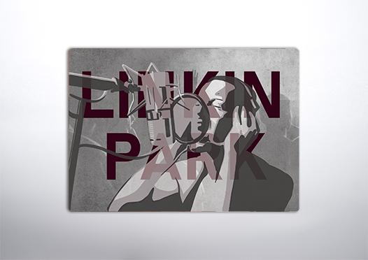 Oryginalny plakat zespołu Linkin park
