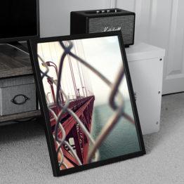 most San Francisco stylowy plakat do mieszkania
