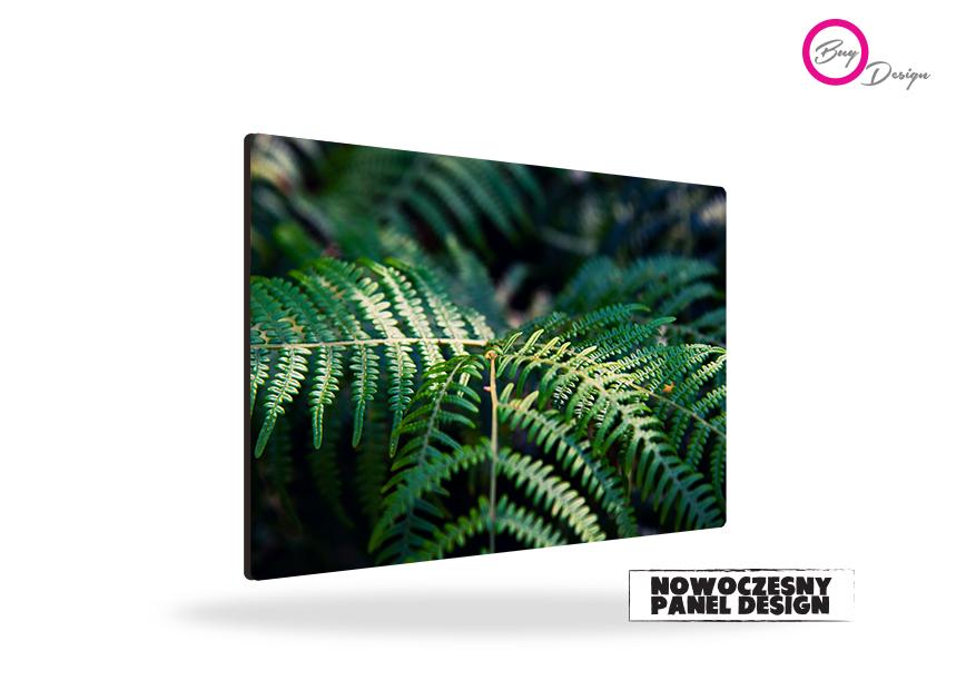 Botaniczny obraz panel design